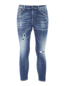 Dondup - Alex jeans with spots of color jeans in blue