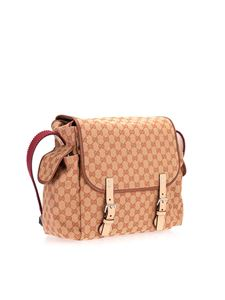 Gucci - GG changing bag in beige Gucci Kids