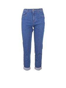 Gucci - Butterfly jeans in blue by Gucci Kids