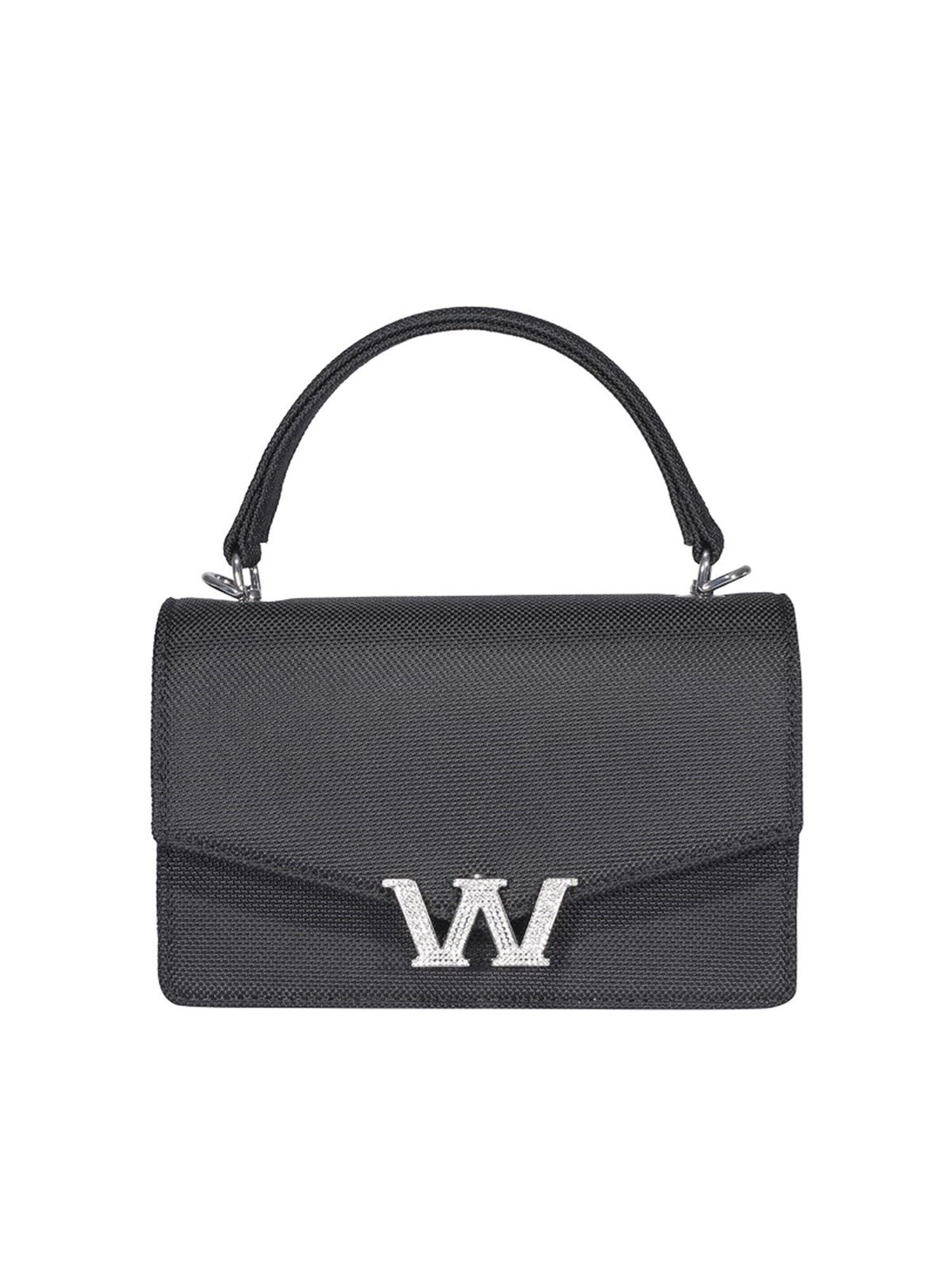 Alexander Wang ALEXANDER WANG W LEGACY MINI SATCHEL IN BLACK