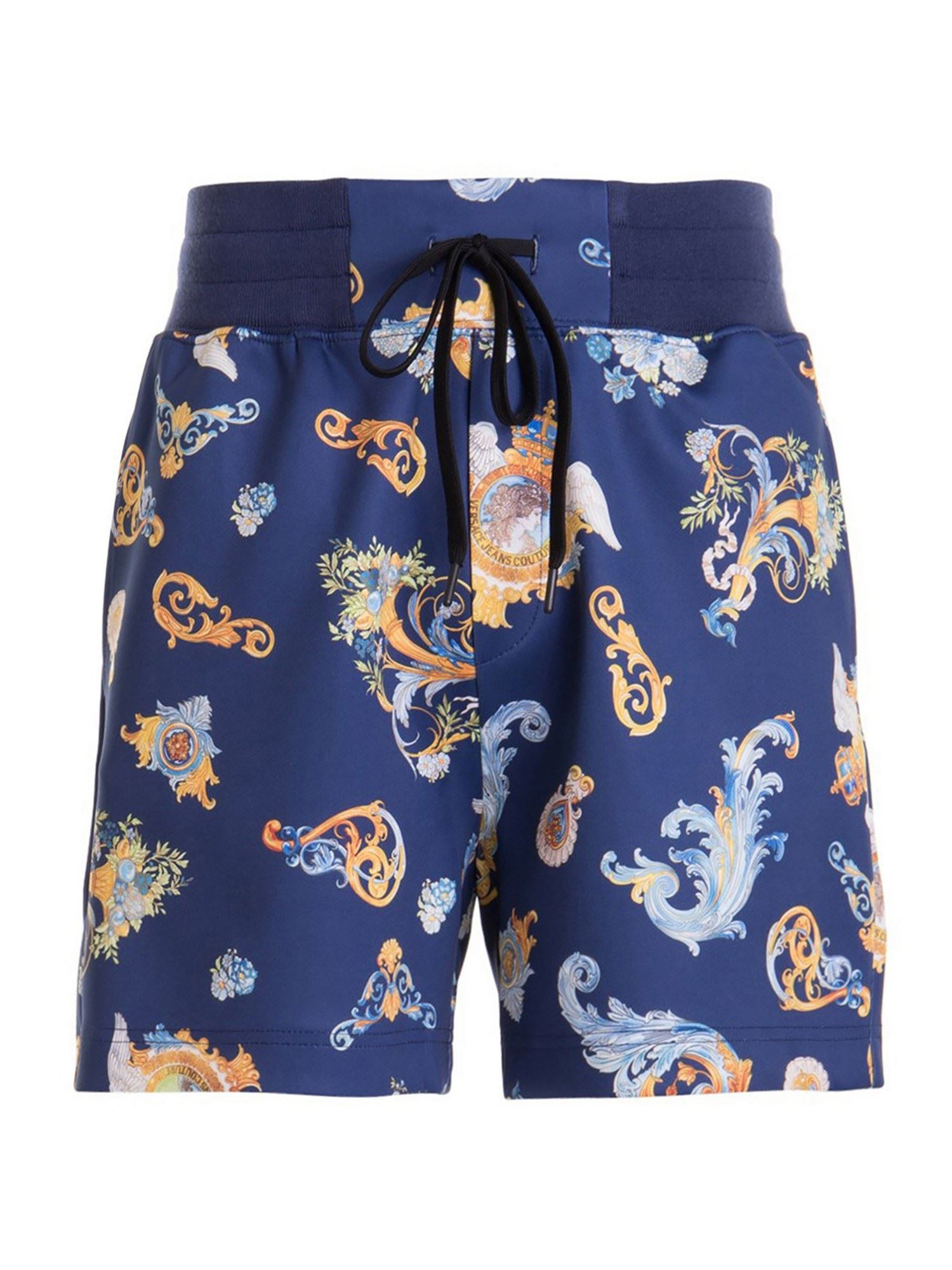 Versace Jeans Couture Shorts TECHNICAL FIBRE SHORTS IN BLUE