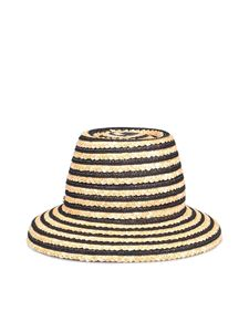 Borsalino - Cloche straw hat in beige