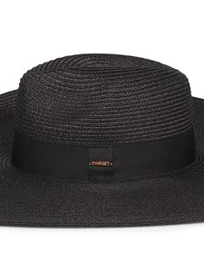 Twin-Set - Black wide-brimmed hat