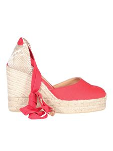Castaner - Carina canvas espadrilles in red