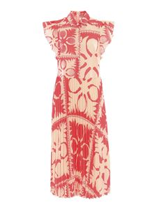 Red Valentino - Patterned shirt dress