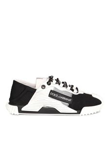 Dolce & Gabbana - NS1 sneakers in white and black