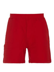 Dsquared2 - Cotton shorts in red
