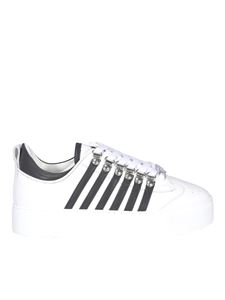 Dsquared2 - Leather sneakers in white