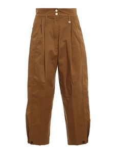 MYTHS - Denim pants in brown