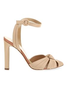 Francesco Russo - Leather pumps in beige