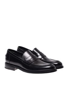 Barrett - Brushed loafers in black