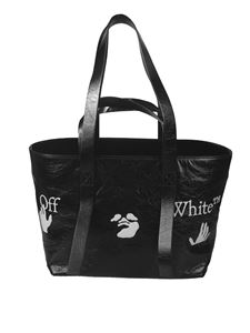 Off-White - Commercial 45 tote bag in black