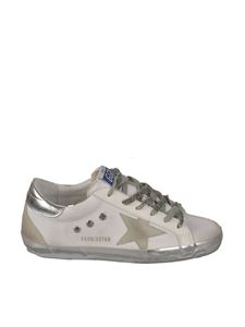 Golden Goose - Contrasting details sneakers in white