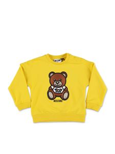 Moschino Kids - Felpa Teddy Bear gialla