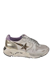 Golden Goose - Running Sole sneakers in white