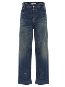 Balenciaga - Cropped jeans in blue