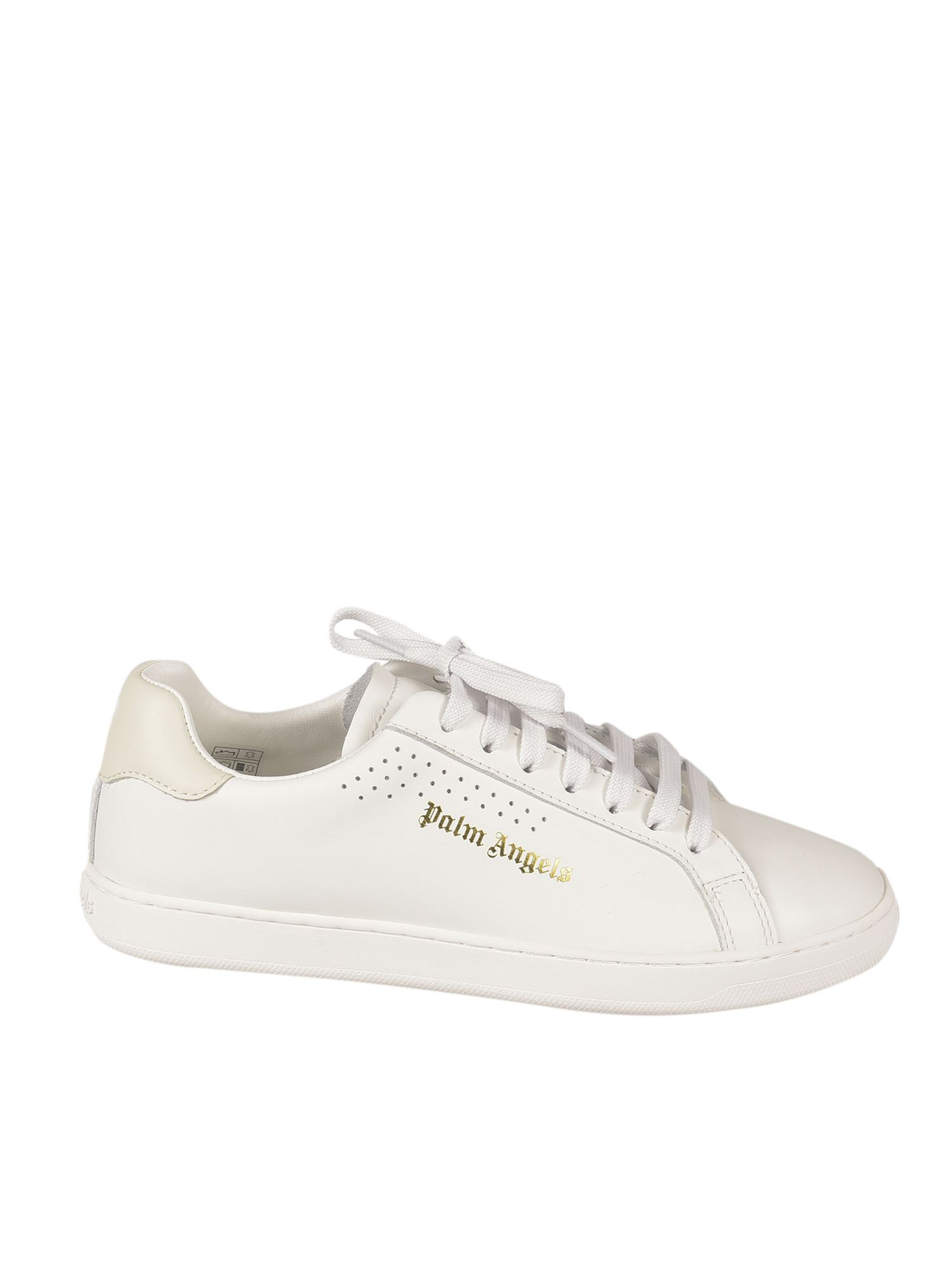 Palm Angels LOGO SNEAKERS IN WHITE