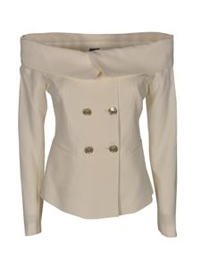 Pinko - Distratto blazer in white