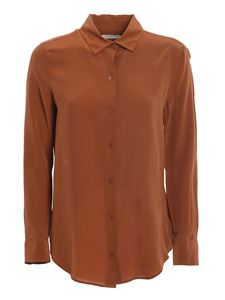 Equipment - Essential shirt in brown