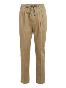 GABRIELE PASINI - Cotton pants in beige