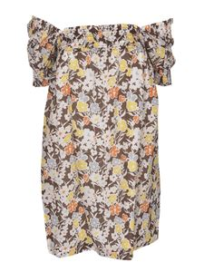 Tory Burch - Floral print dress in Reverie color