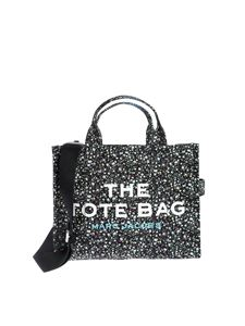 Marc Jacobs  - Small The Traveler ditsy floral tote bag