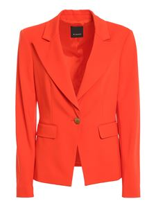Pinko - Gomberto 5 blazer in red