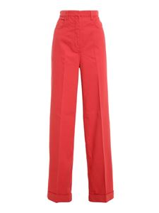 Philosophy di Lorenzo Serafini - Wide leg jeans in red