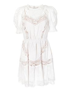 Michael Kors - Broderie anglaise dress in white