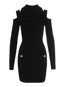 Balmain - Knitted dress in black