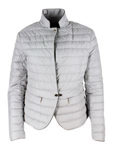 Moorer - 100 grams down jacket in Ice color