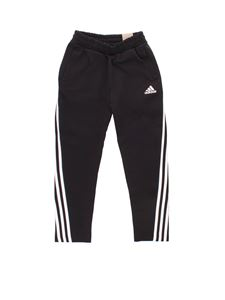 Adidas - 3 Stripes Doubleknit pants in black