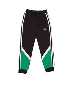Adidas - Comfort Colorblock pants in black and green
