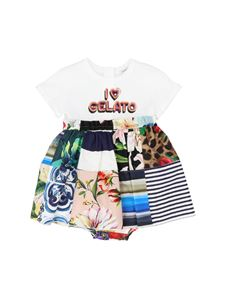 Dolce & Gabbana Jr - I Love Gelato dress in multicolor
