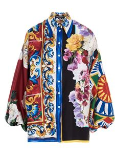 Dolce & Gabbana - Patchwork shirt in multicolor