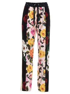 Dolce & Gabbana - Patchwork joggers in multicolor