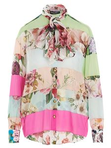 Dolce & Gabbana - Floral patchwork shirt in multicolor