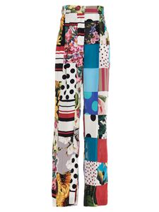 Dolce & Gabbana - Patchwork trousers in multicolor