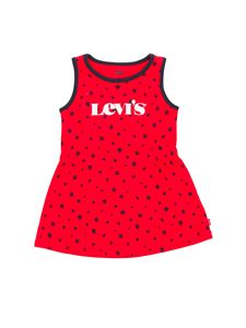 Levi's - Flowers print dress in red