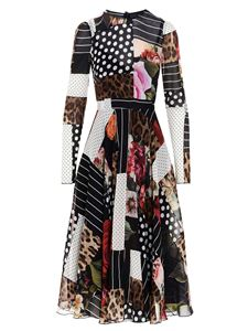 Dolce & Gabbana - Patchwork dress in multicolor