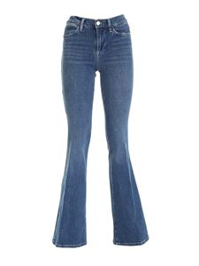 Frame - Le High Flare jeans in blue