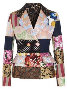 Dolce & Gabbana - Patchwork jacket in multicolor