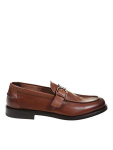 Doucal's - Penny loafers in brown color
