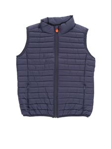 Save the duck - Light Tic Toc puffer jacket in blue