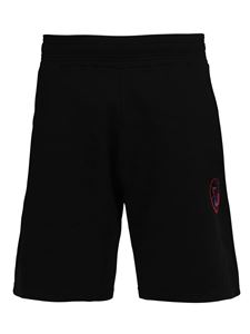 Givenchy - Cotton jersey shorts in black