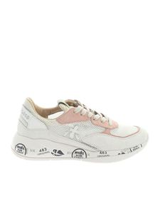 Premiata - Scarlett sneakers in white and pink