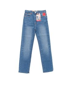 Levi's - 5 pockets jeans in blue