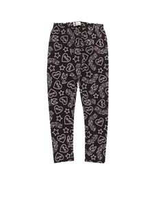 LIU JO Junior - All over print leggings in black