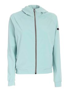 RRD Roberto Ricci Designs - Logo jacket in aquamarine color
