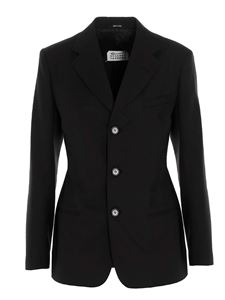 Maison Margiela - Single-breasted blazer in black